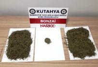 Kütahya'da Valizin İçerisinden 226 Gram Bonzai Çıktı