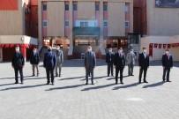 Mardin'de 23 Nisan Ulusal Egemenlik Ve Çocuk Bayramı Çelenk Sunma Töreni Gerçekleştirildi