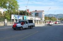 Marmaris'te Konvoylu 23 Nisan Kutlaması
