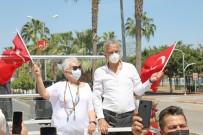 Mezitli Belediyesinden 23 Nisan Konvoyu
