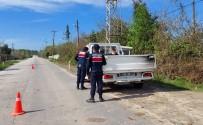 Samsun'un Çok Riskli İlçesinde Jandarmadan Sıkı Takip