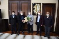 Şehit Ailelerinden Başkan Aşgın'a Teşekkür Ziyareti