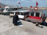 Van Gölü'ndeki Balıkçı Tekneleri Denetlendi