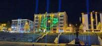 Karabük'te 23 Nisan Kutlamaları Lazer Işık Gösterileri Sona Erdi