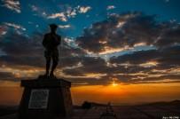 Kocatepe'de Gün Batımı Manzarası Görenleri Mest Etti