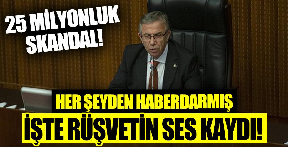 CHP'deki 25 milyonluk rüşvet skandalında yeni skandal! CHP'li Ankara Büyükşehir Belediye Başkanı Mansur Yavaş haberdarmış