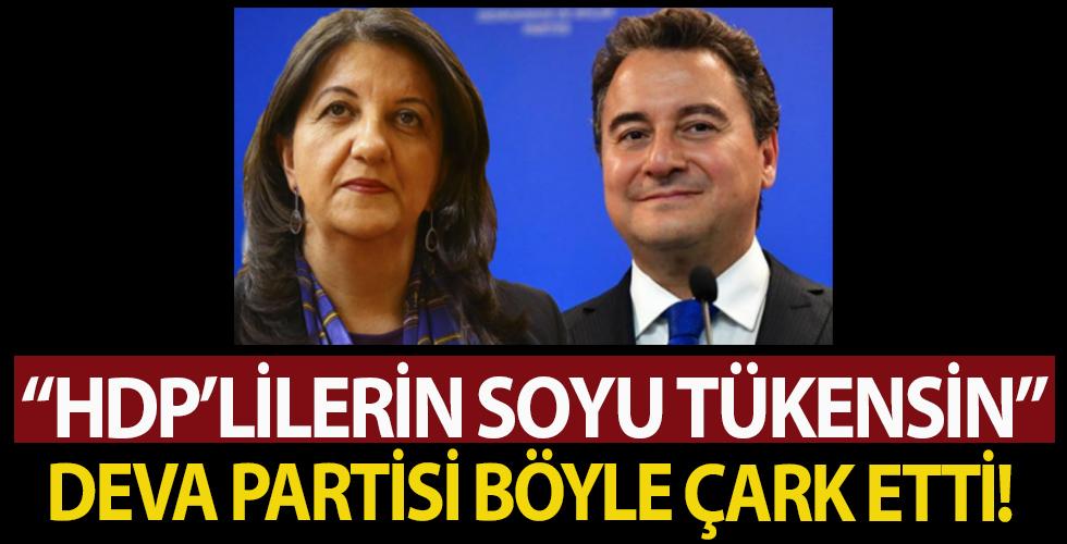 Deva Partili Metin Kaşıkoğlu'nun sözleri HDP'lileri kızdırdı