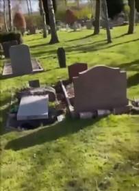 İSVEÇ - İsveç'te, Müslüman mezarlarına zarar verildi