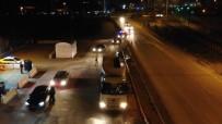 43 İlin Geçiş Güzergahında HES Kodu Denetimi Açıklaması Otobüsler Ve Özel Araçlar Tek Tek Durduruldu