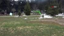 Gölcük Tabiat Parkı'nda Kısıtlama Nedeniyle Sessizlik Hakim