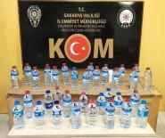 Sakarya'da Kaçak Alkol Operasyonu Açıklaması 16 Buçuk Litre Ele Geçirildi