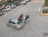 Tokat'ta Feci Motosiklet Kazası Kameralara Yansıdı