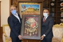 Ülkü Ocakları Yönetimi, Belediye Başkanı Savran'ı Ziyaret Etti