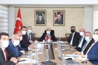 Vali Demirtaş, İlçe Belediye Başkanları İle Bir Araya Geldi