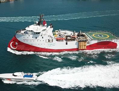 Barbaros Barbaros Hayrettin Paşa gemisi Karadeniz'e açıldı!