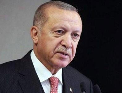 Başkan Erdoğan'dan destek paylaşımı!