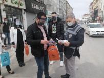 Aksaray'da Emniyet Ve Sağlık Personeline Siperlik Dağıtıldı