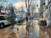 Kars'ta Belediyeden Bahar Temizliği