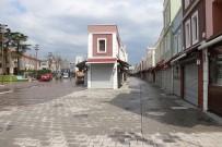 Sakarya'da Cadde Ve Sokaklar Yaklaşık 1 Ay Sonra Yeniden Boş Kaldı