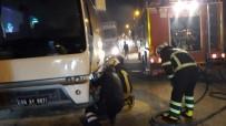 Siirt'te Seyir Halindeki Otobüs Alev Aldı