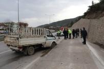 Amasya'da Trafik Kazası Açıklaması 2 Yaralı