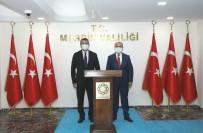 Azerbaycan Ankara Büyükelçisi Hazar İbrahim, Vali Demirtaş İle Bir Araya Geldi
