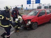 Bingöl'de Trafik Kazası Açıklaması 5 Yaralı