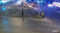 Çankırı, Çorum Ve Kırıkkale'deki Trafik Kazaları KGYS Kamerasında