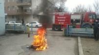 Daday'da Emniyet Güçleri Yangın Tatbikatı Yaptı