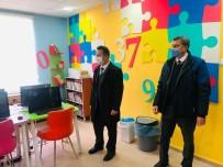 Daday'da Öğrenciler Kütüphaneyi Ziyaret Etti