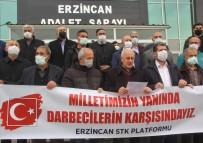 Erzincan'da STK'lardan Emekli Amirallerin Bildirisine Ortak Tepki