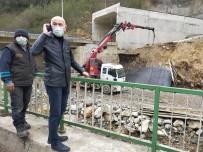 Giresun'da Dere Sularına Kapılan 2 Kişiden Biri Hayatını Kaybederken, Biri Yaralı Olarak Kurtarıldı