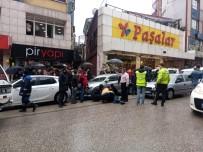 Karşıya Geçerken Aracın Çarptığı Genç Kız Yaralandı