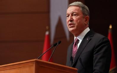 Milli Savunma Bakanı Akar'dan bildiri tepkisi