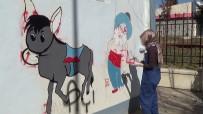 Siirt'te Elektrik Trafoları Boyanarak Güzelleştirildi