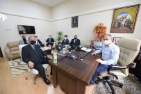 TSUAM Yöneticileri Çorum Belediyesini Ziyaret Etti