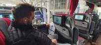 AFAD'tan Otobüsle Seyahat Eden Yolculara Videolu Afet Farkındalık Eğitimi