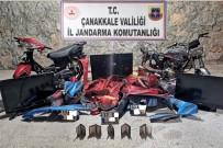 Çanakkale'de Motosiklet Hırsızlığı Açıklaması 2 Gözaltı