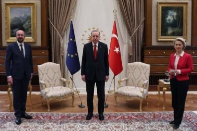 Erdoğan AB heyetini kabul etti!