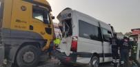 Hatay'da Zincirleme Kaza Açıklaması 7 Yaralı
