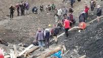 Kaçak Maden Ocağında Mahsur Kalan İşçi Çıkarıldı