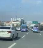 (Özel) Kadıköy'de Yolcu Minibüsünün Makas Terörü Kamerada