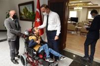 Şanlıurfa Valisi İki Engellinin Hayatını Kolaylaştırdı