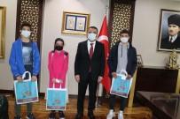 Siirt Valisi Hacıbektaşoğlu Kütüphane Çalışanları Heyeti İle Görüştü