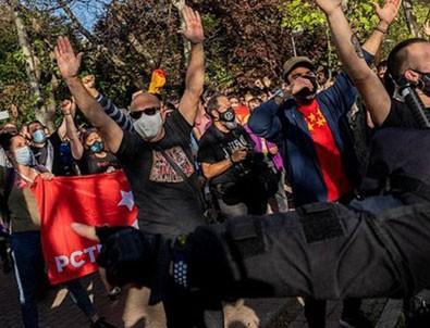 İspanya'da sağ - sol savaşı!