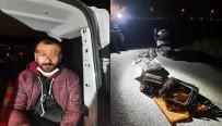 Motosikletli Hırsız Zanlısı Kovalamacayla Yakalandı