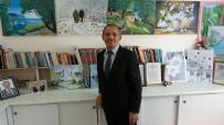 Ressam Muhtar, Muhtarlığın Bir Odasını Resim Salonuna Dönüştürdü