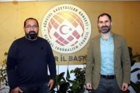 ASBİD Başkanı Dinler, KGK Başkanı Karaca'yı Ziyaret Etti