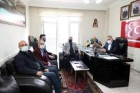 Belediye Başkanı Savran, MHP Ve BBP'yi Ziyaret Etti