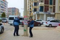 Ergani'de İzinsiz Kullanılan El İlanları Kaldırıldı